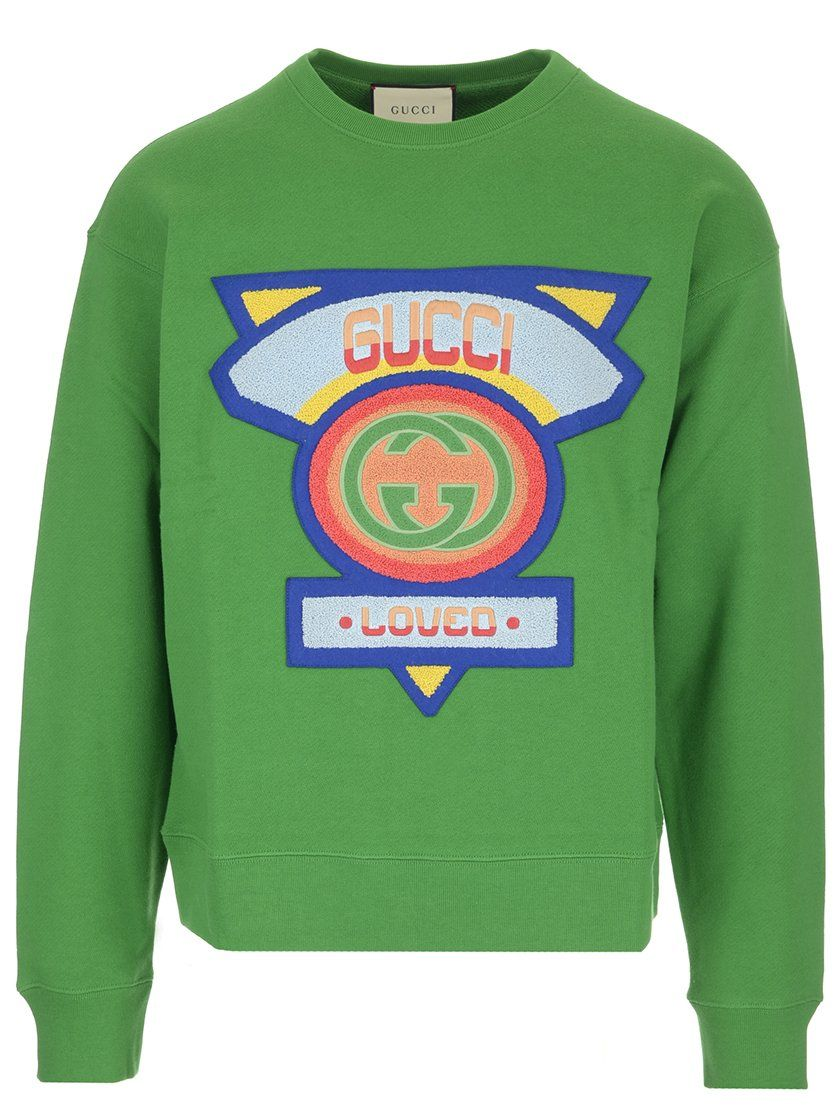 64f1f044 GUCCI GUCCI LOVED PATCH SWEATER. #gucci #cloth | Gucci | Gucci ...