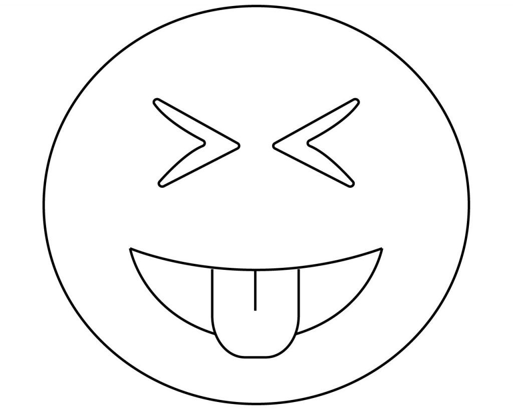 Emoji Coloring Pages Printable New Printable Emoji Coloring Pages
