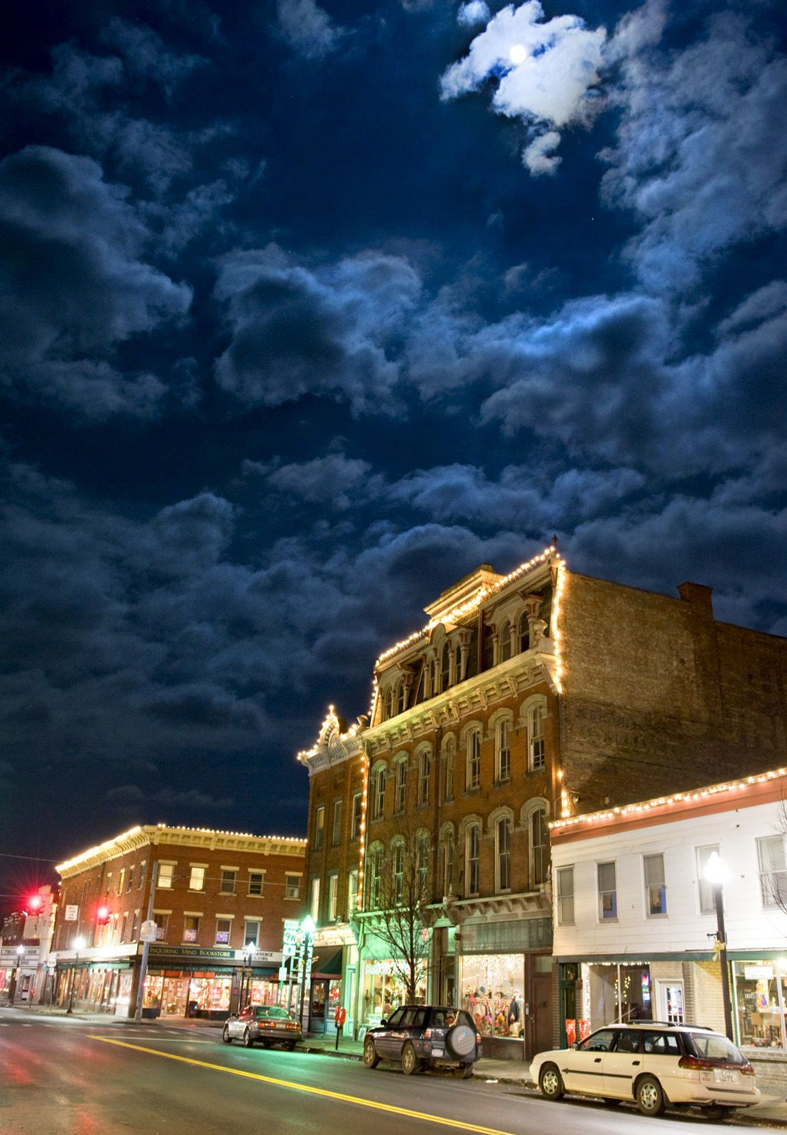 Saugerties Nocturne by Dion Ogust