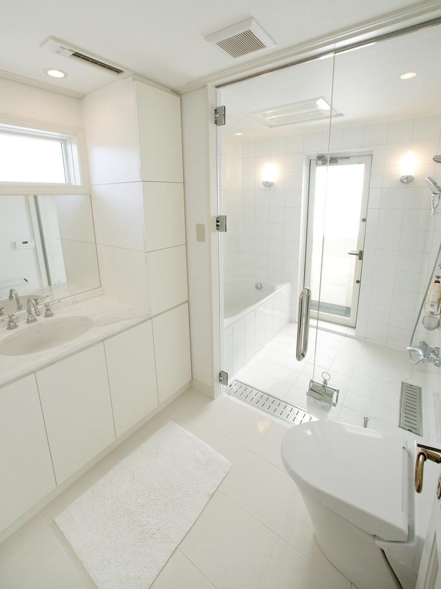 トイレと洗面を一緒にした欧米スタイル トップメゾン バスルーム