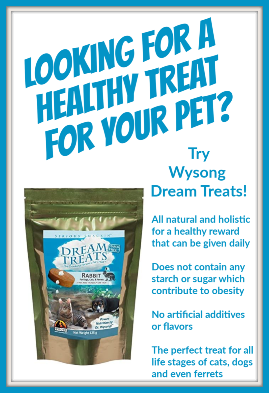 Wysong Dream Treats Review in 2020 Pet hacks, Pet