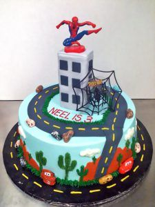 Image result for spiderman cake spidey Pinterest