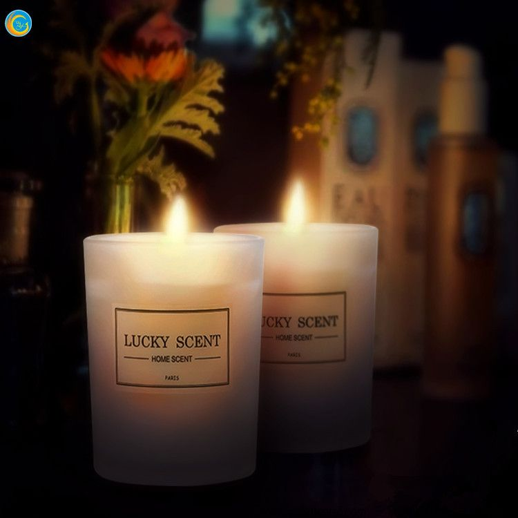 Time To Source Smarter Scented Flameless Candles Glass Jar