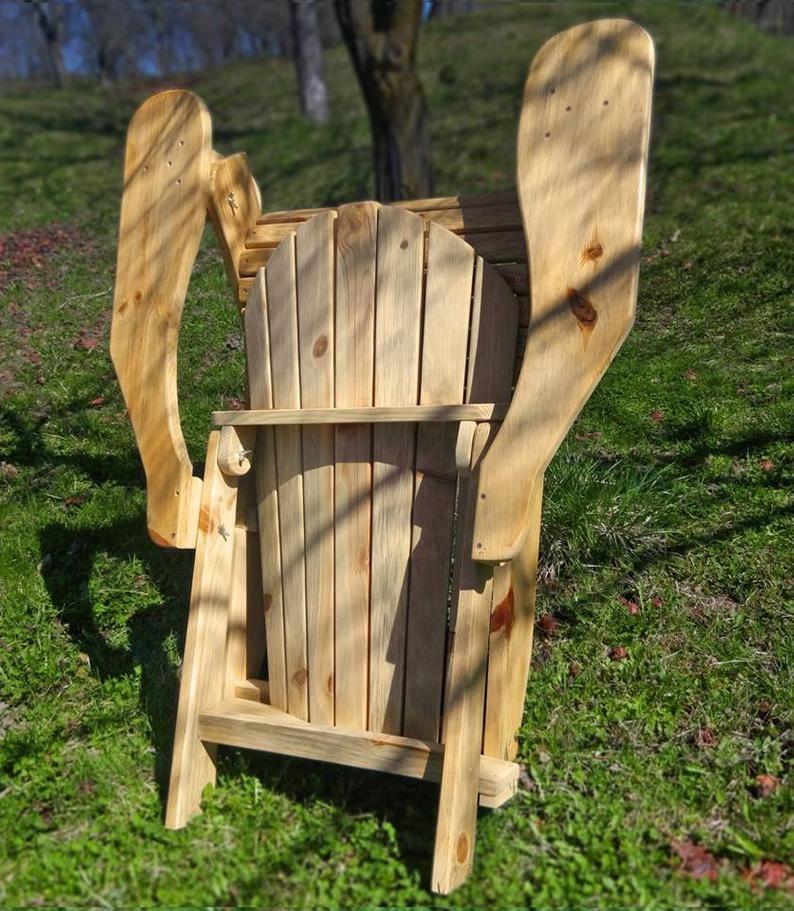 Adirondack Chair Sedie Da Giardino.Adirondack Foldable Chair Garden Armchair Alster Chair Pine Furniture Patio Chair Wooden Armchair Handmade By Wood Laboratories In 2020 Wooden Armchair Pine Furniture Foldable Chairs