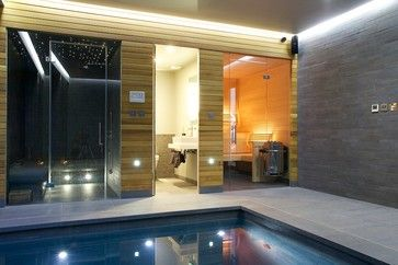 Indoor Swimming Pool Design Ideas, Pictures, Remodel And Decor · Luxus SwimmingpoolsHallenbäderSchwimmbad  DesignsModerne ...