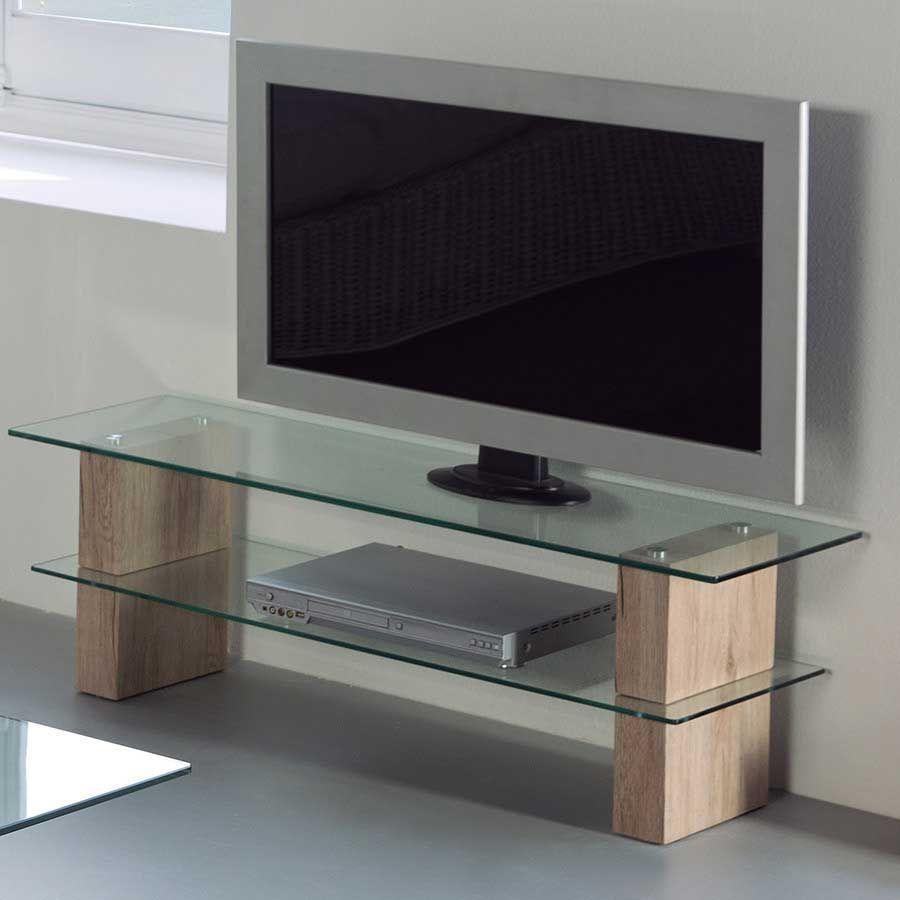 meuble tv en verre trempe meuble tv