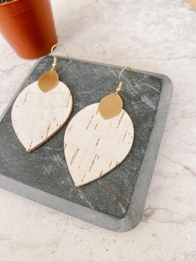 White Birch Cora Earrings