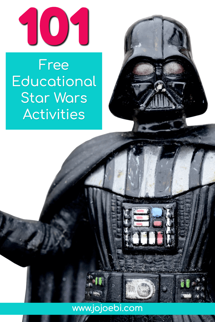 101 free educational star wars activities is part of Kids Crafts Activities Star Wars - Do you have a Star Wars crazy kid at home  Find the perfect Star Wars activity to keep them busy and learning at the same time!