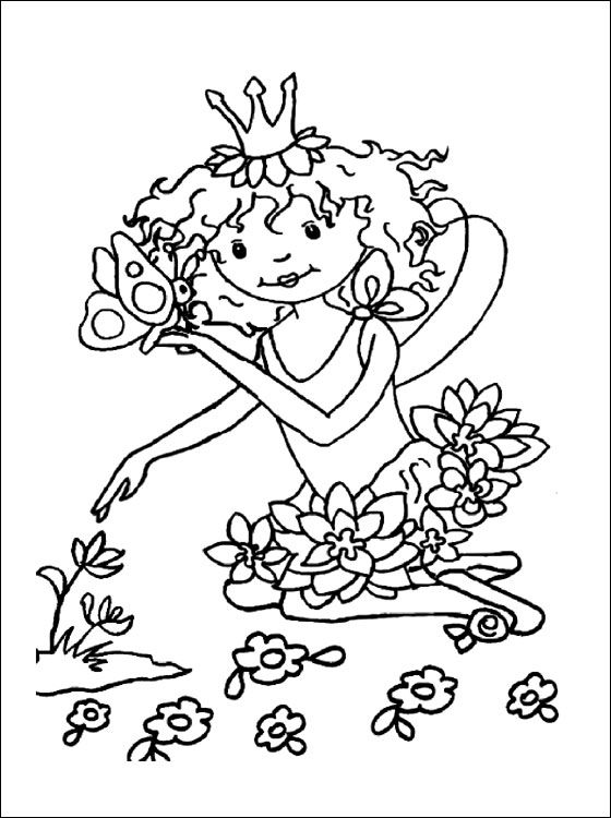 Ausmalbilder Prinzessin Lillifee Kostenlos   Siehe die ...