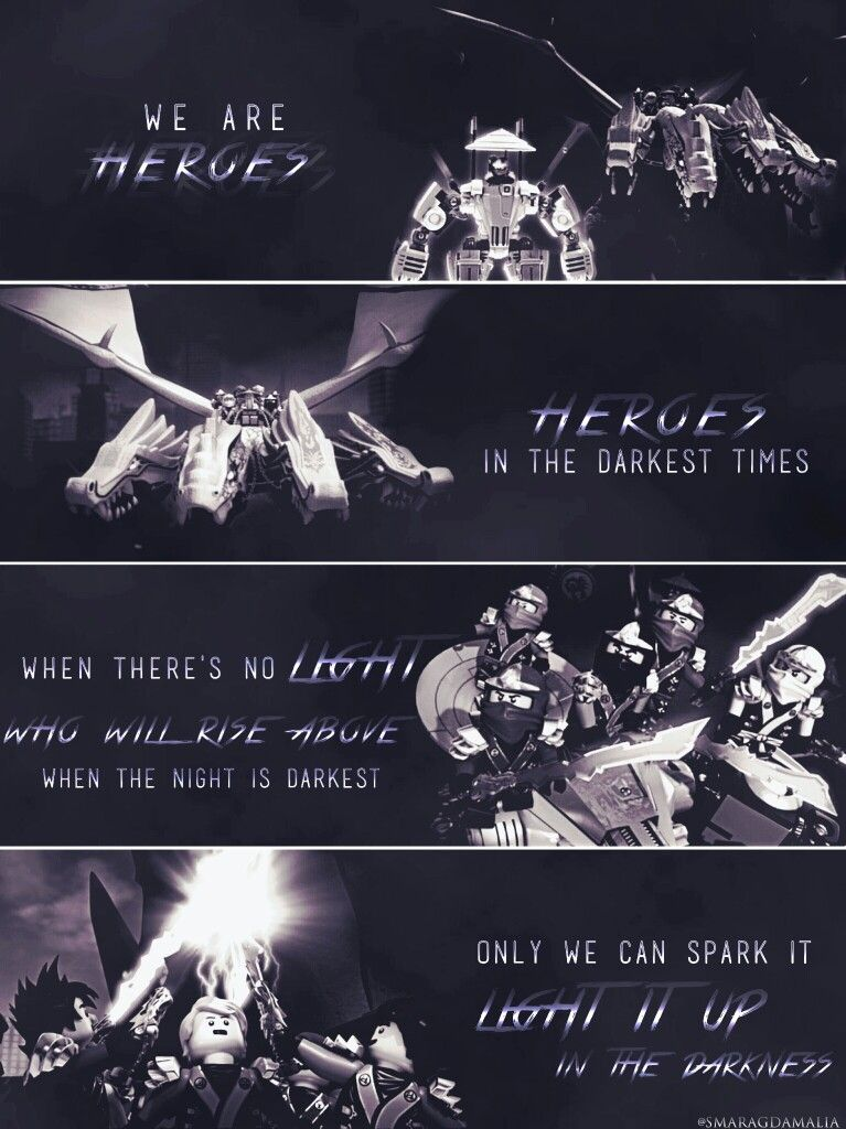 • #LEGO #NINJAGO #S2 • #Kai #Jay #Cole #Zane #Lloyd  • [ Heroes by Zayde Wolf ]  • #ZaydeWolf #GenerdynMusic • #lyrics   • My Edit. Hope you'll like it.