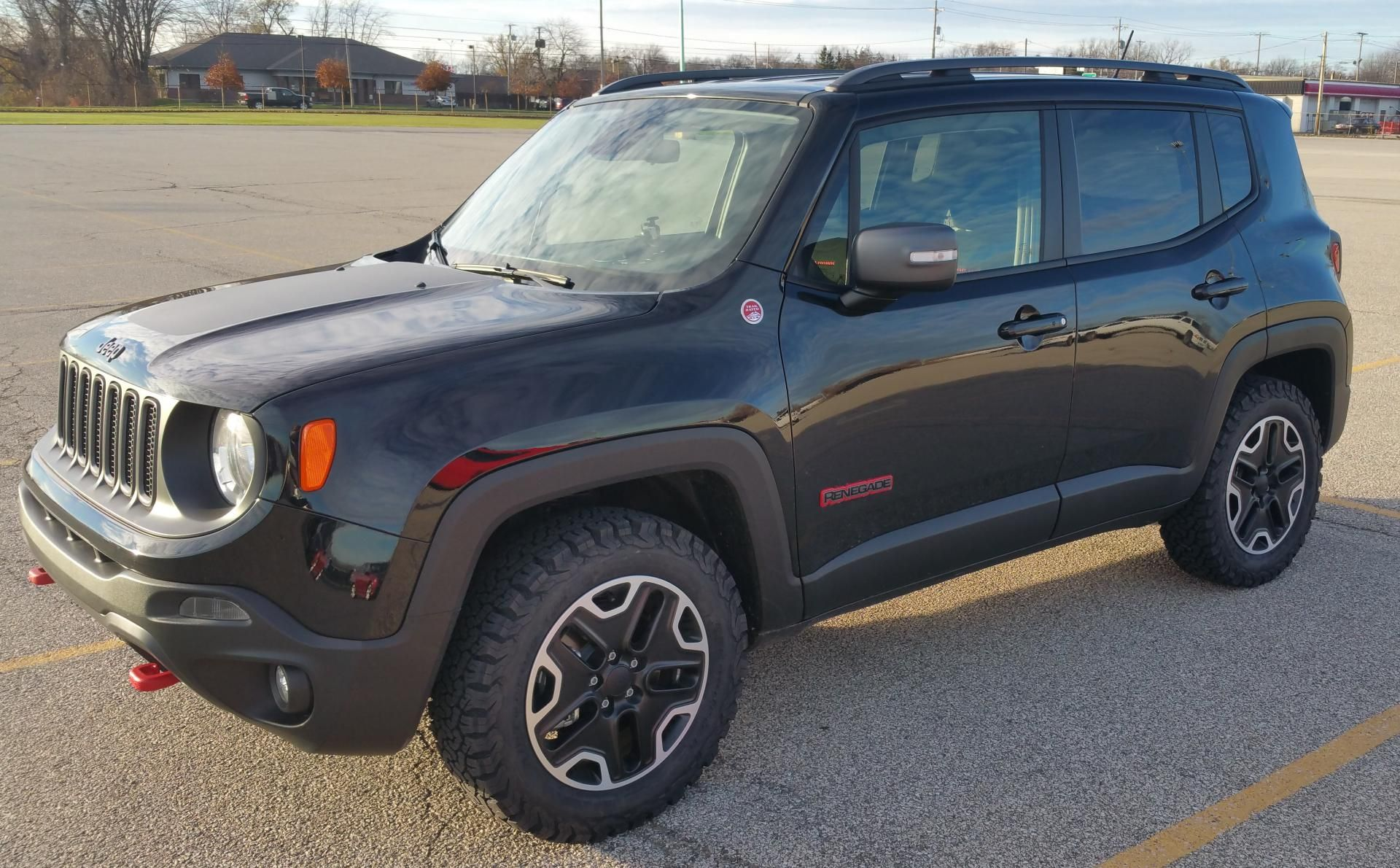Bf Goodrich 225 65 17 Jeep Renegade Trailhawk Jeep Renegade Jeep Mods