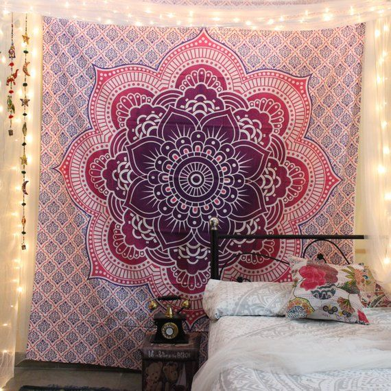 Mandala Tapestry Wall Hanging Wall Tapestry Huge Tapestry Indian