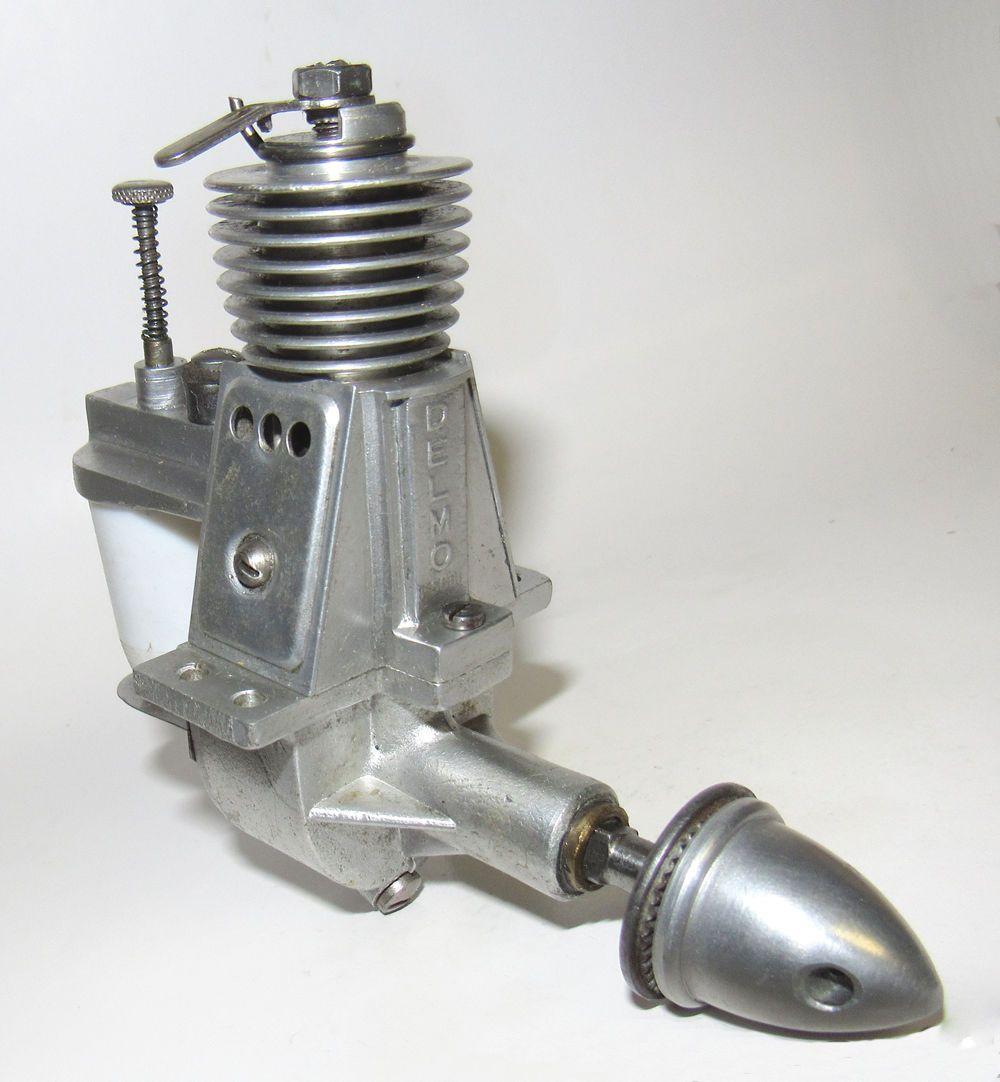 1945 French Delmo Diesel Model Airplane Engine   eBay