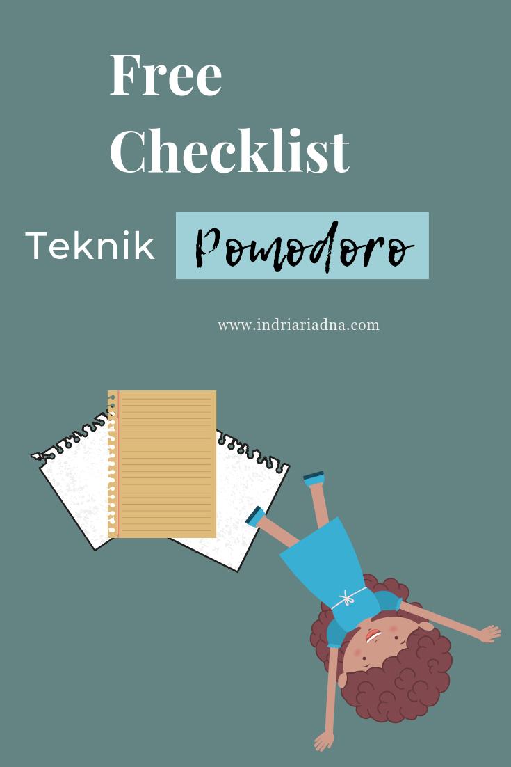 Freebie Gratis Checklist Teknik Pomodoro Link Download Https Pages Convertkit Com F005176181 B0140c31bc Teknik