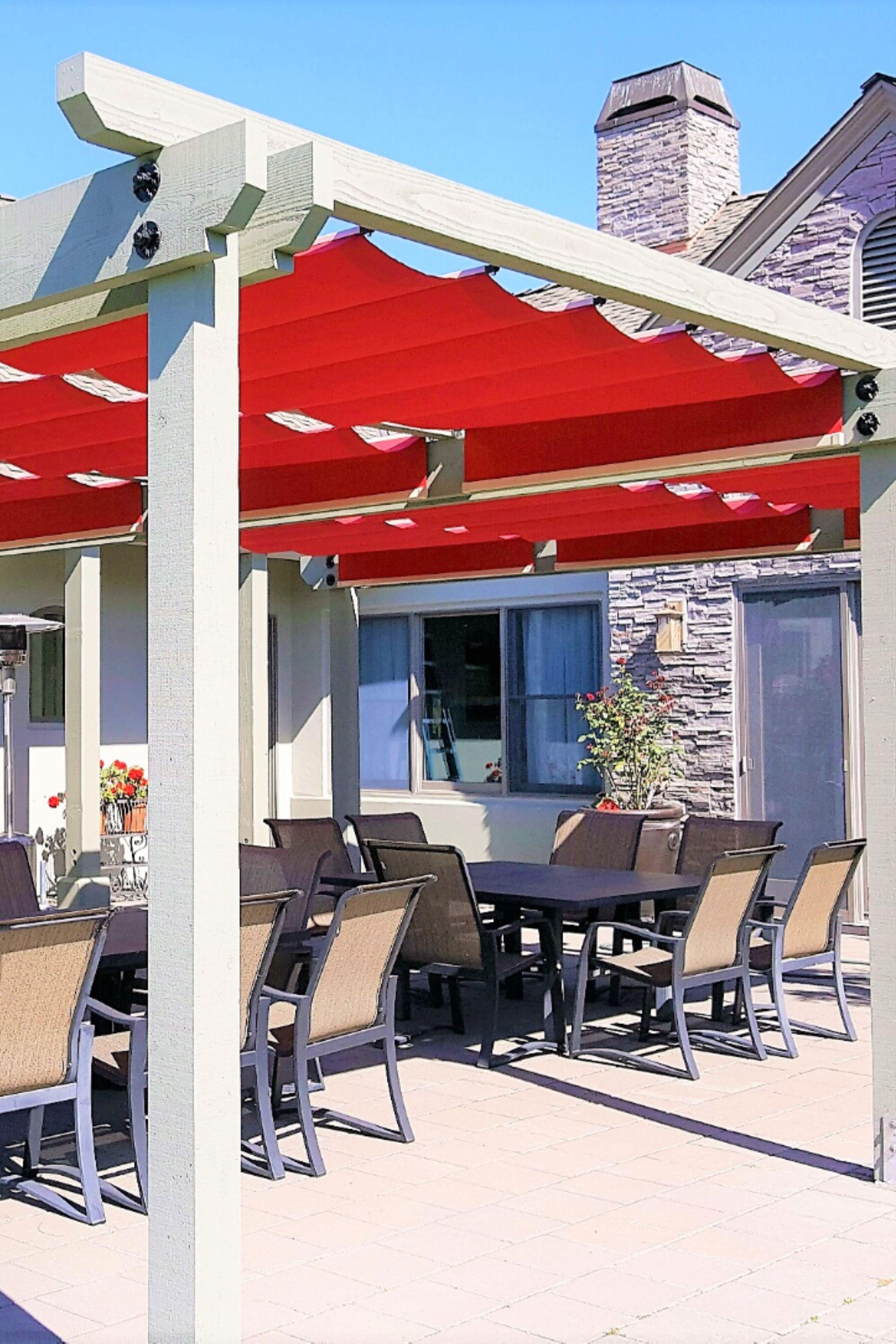 pergola shade canopy on red fabric shades over patio set patio patio shade patio set red fabric shades over patio set