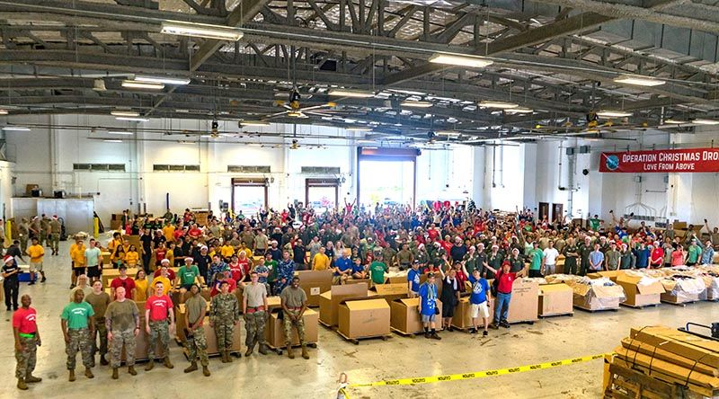 Operation Christmas Drop all bundled up in Guam CONTACT