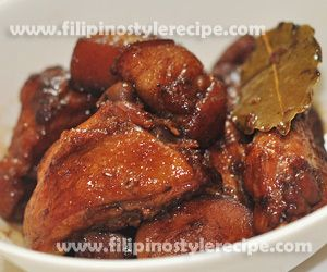 Chicken pork adobo recipe recipes pinterest filipino pork and filipino style recipe chicken and pork adobo is another variety of popular filipino adobo usually we serve chicken or pork adobo but in this recipe we forumfinder Gallery