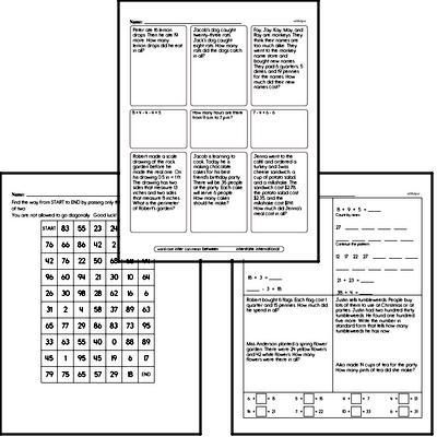 Multiplication Mixed Math PDF Workbook in 2020