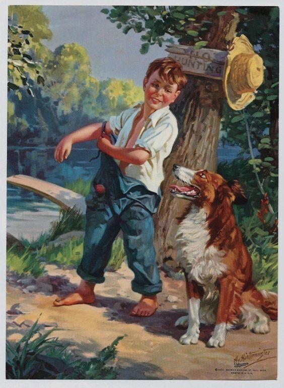 Henry (Hy) Hintermeister   Art, Vintage art, Vintage painting