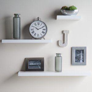 Accentuations by Manhattan Comfort Tichla Rectangular Floating Shelf - Wall Shelves & Hooks at Hayneedle