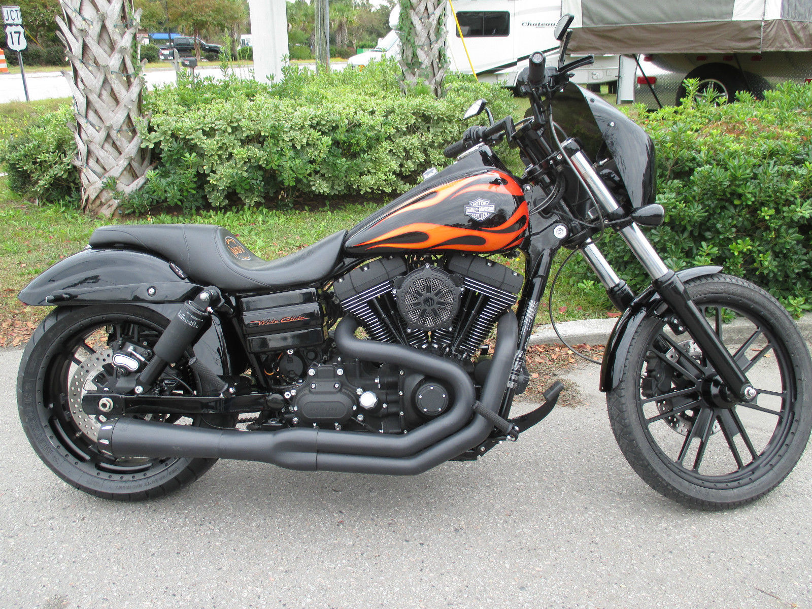 "2011 Harley Davidson Dyna WideGlide RSD ""Black Ops Slam"