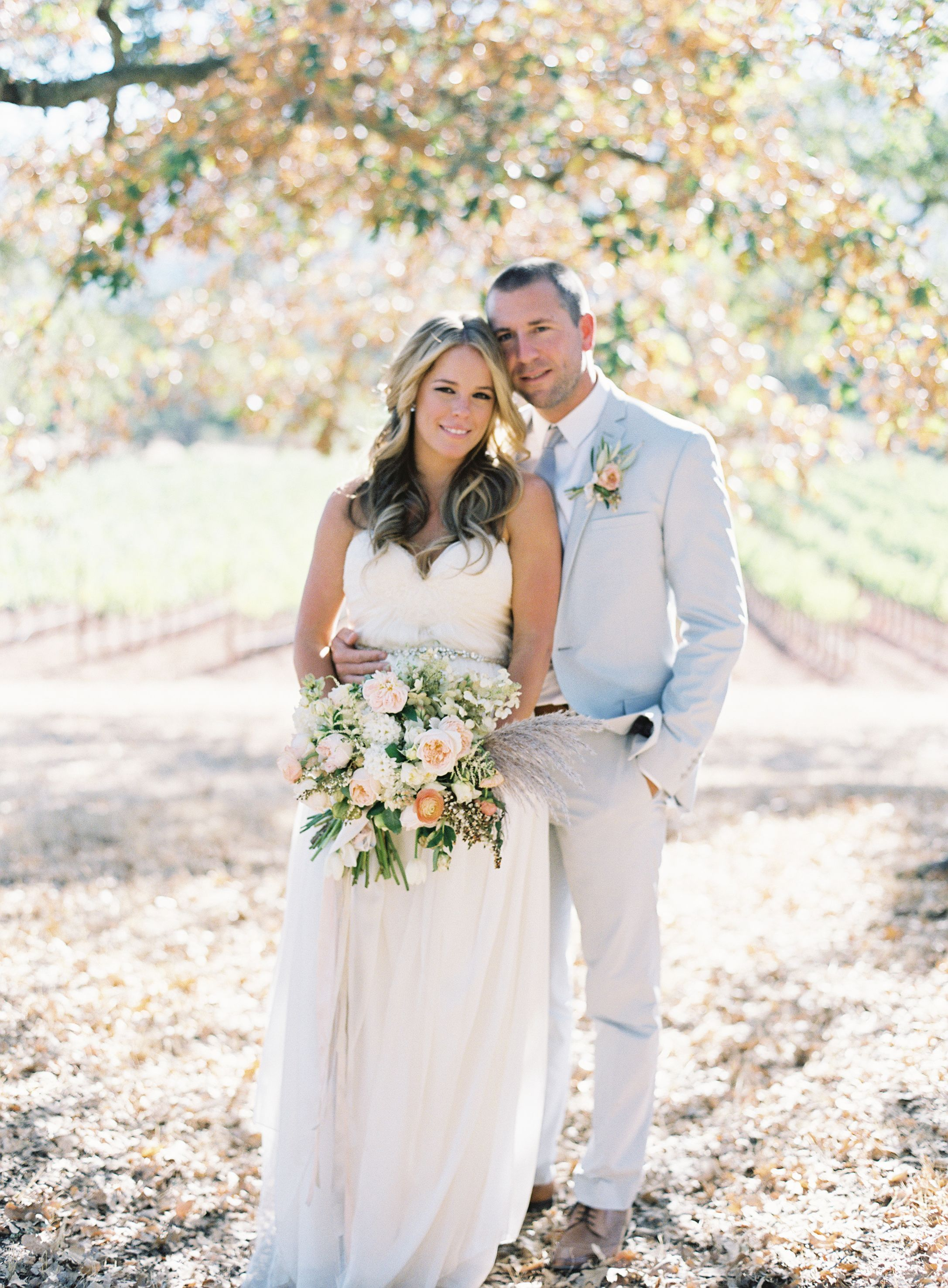 Cheap rustic wedding dresses  Vineyard Wedding  HairMakeup by Mimi  Taylor  Wedding dress by