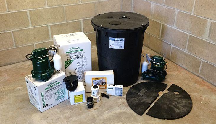 Professional Sump Pumps Basins Cover Check Valves And High Water Alarm Imec Kelder