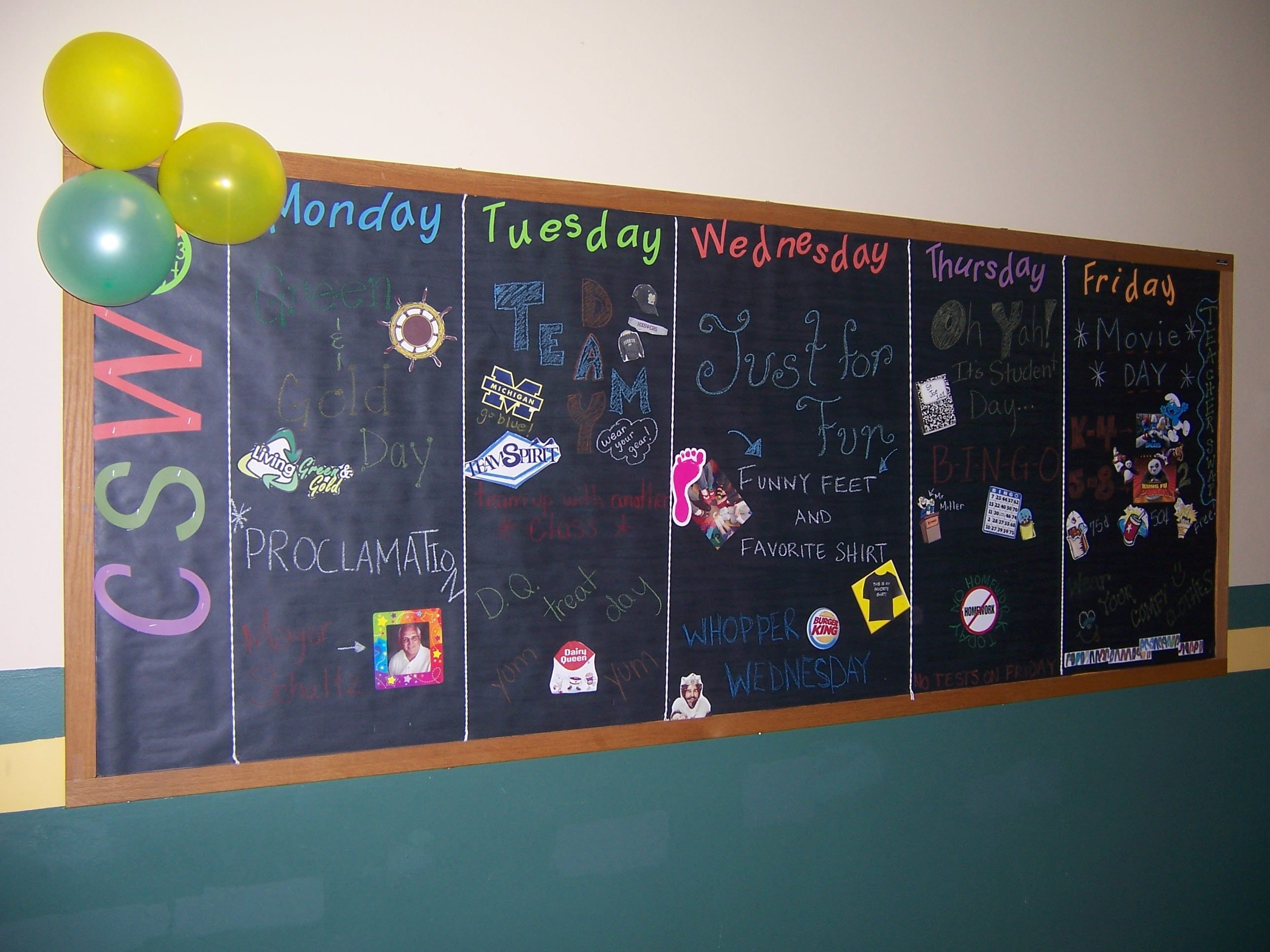 Catholic Schools Week Bulletin Board By Amanda Sutter
