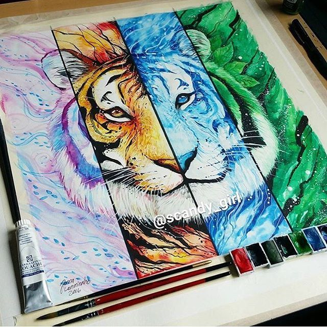 Element Tiger Absolutely Stunning Work By Scandy Girl