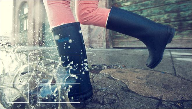 Tretorn rubber boots  #wellies #boots