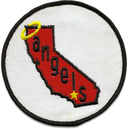 California Angels Sports Logo Patch Patches