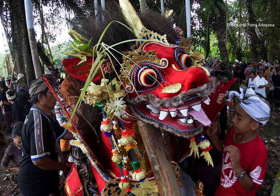 barong in the forest
