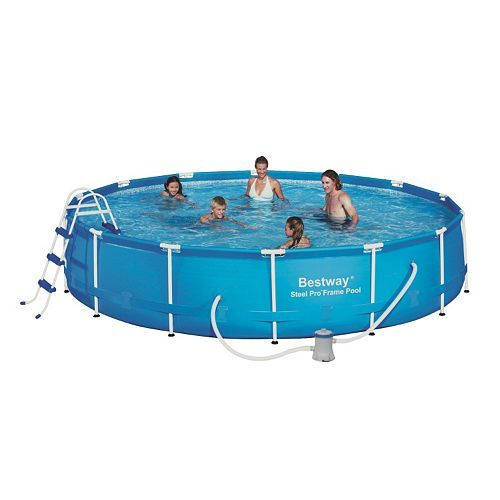 Best Way 14-ft. Power Steel Frame Pool (With images) | Big ...
