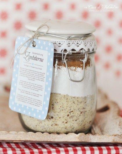 Backmischung für Zimtsterne {Rezept} Xmas, Gift and Food - selbstgemachtes aus der küche