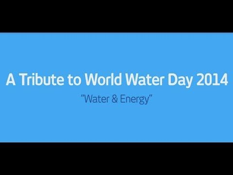 Energy Recovery S Tribute To World Water Day 2014 Water Energy
