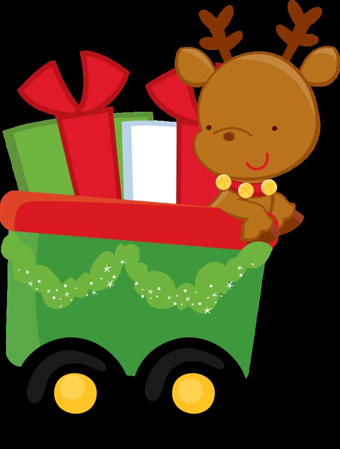minus say hello navidad pinterest clip art christmas rh pinterest com christmas train clipart free