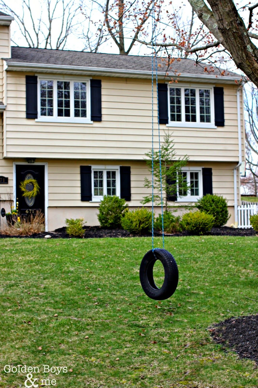 Adding Curb Appeal With New Shutters Split Level Homes