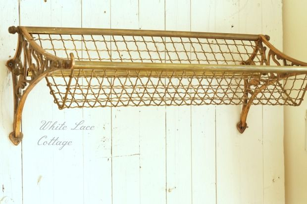 Antique Train Luggage Rack Best 2000 Decor Ideas