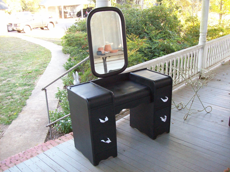 Vintage Dresser Vanity Art Deco Pottery Barn Style