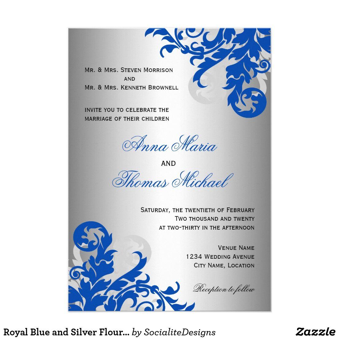 design blue royal blue wedding