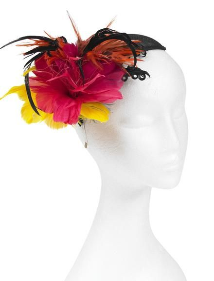 Floral Feather Fascinator - Project - The Spotlight Inspiration Room ... 21cb81d5e25