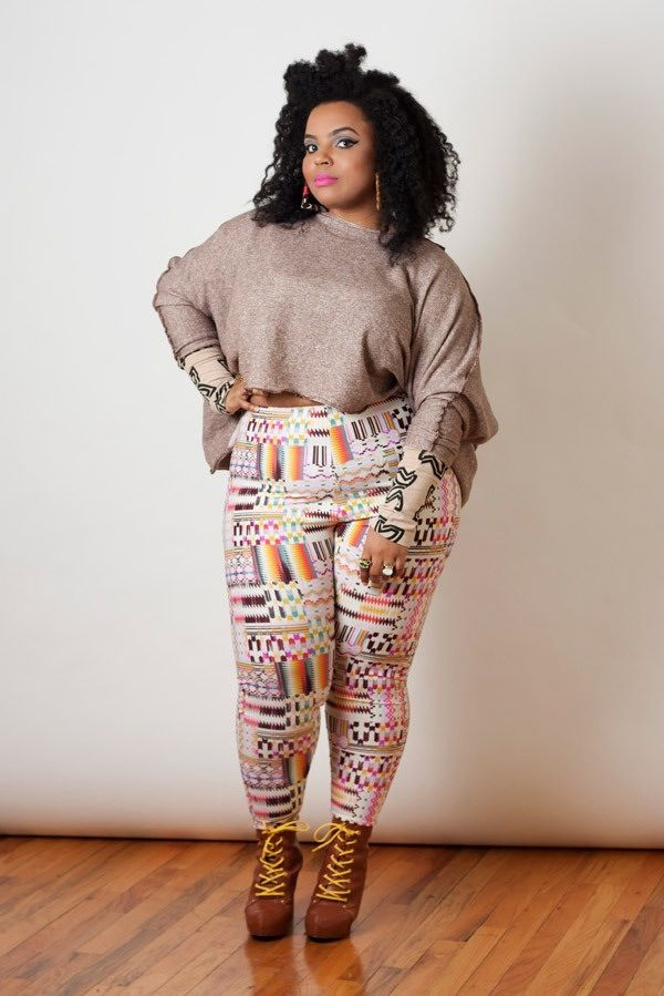 Lovin this outfit for us plus size girls