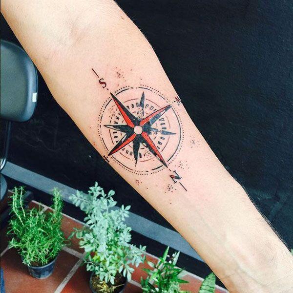 13 Gorgeous Tattoos That Celebrate Travel | Einzigartige