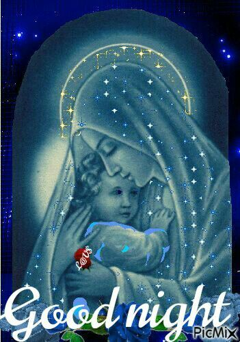 Pin By Lavanya On Good Night Mother Mary Blessed Mother Blessed