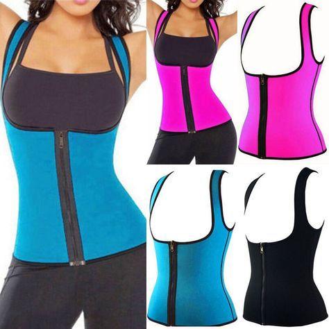 8488d7e1b4 Hot Women Hot Neoprene Body Shaper Slimming Waist Slim Belt Yoga Vest  Underbust