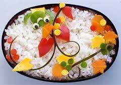 decorar alimentos