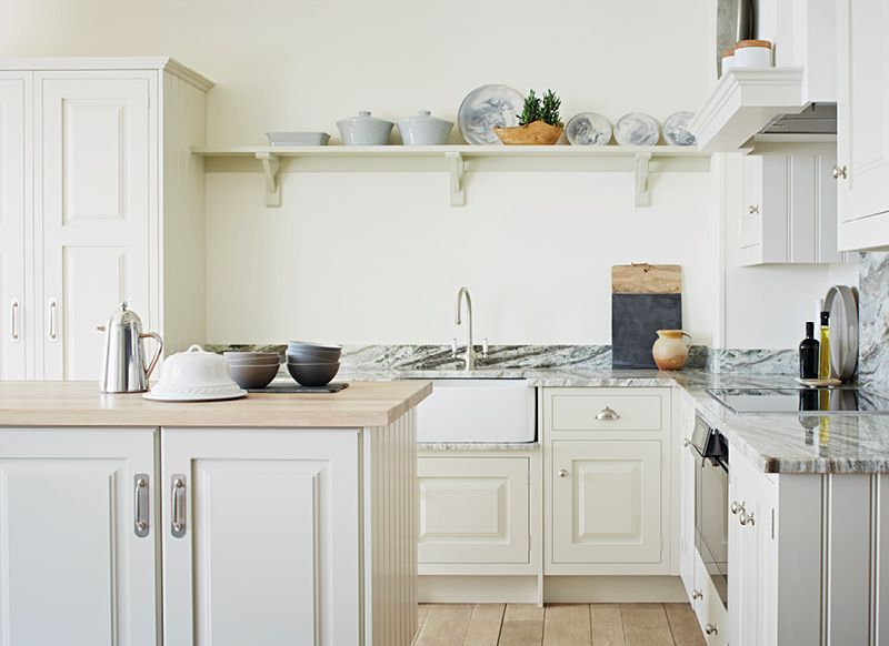 John Lewis of Hungerford John Simon small kitchen with tons of ...