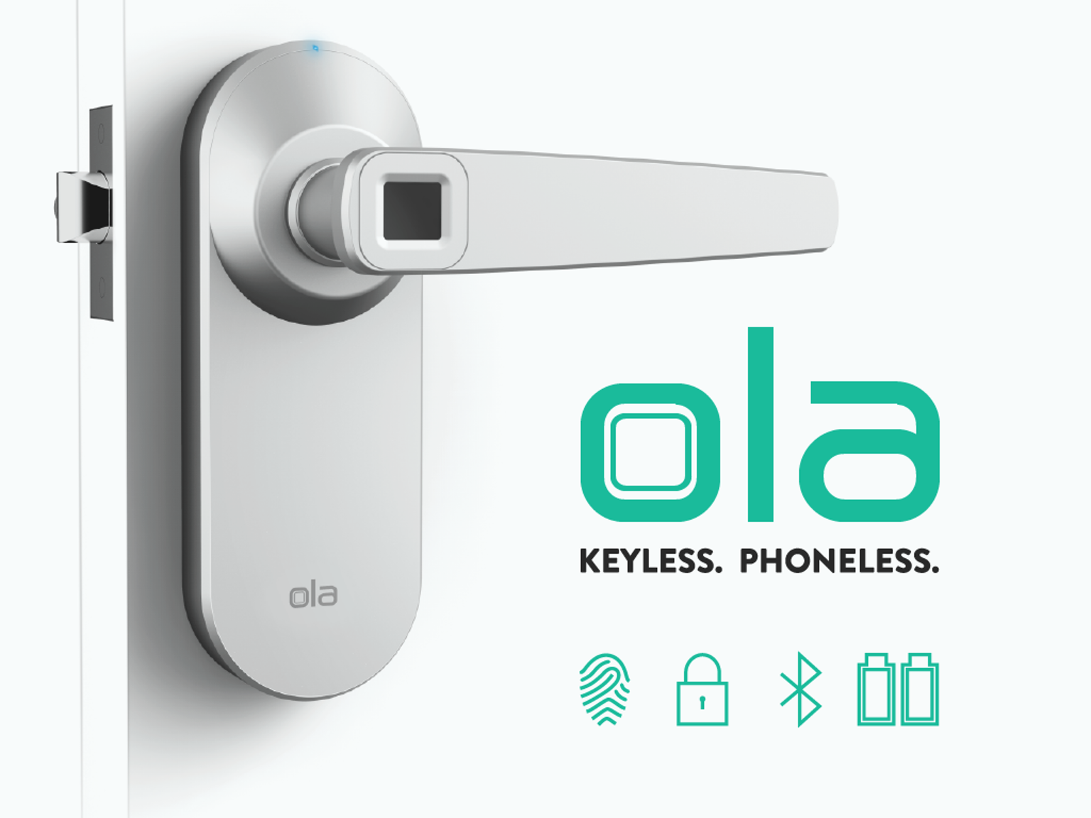 ola the worldu0027s first keyless and phoneless bluetooth enabled fingerprint smart lock the fastest