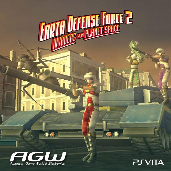 Earth Defense Force 2 Invaders From Planet Space originalmente lanzado en Japón y Europa para PS2 y más tarde en el sistema PSP VITA llega a América con una serie de mejoras y adiciones dirigida por los desarrolladores originales en Sandlot.
