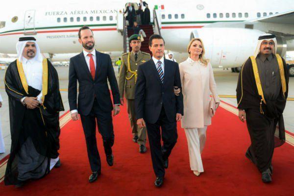 Viaja Peña Nieto con familia y amigos en giras internacionales - SéUnoNoticias